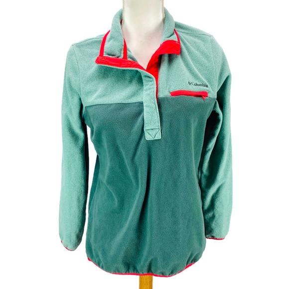 Columbia Jackets & Blazers - Columbia Mountain Side Pull Over Fleece Jacket